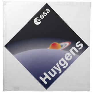 HUYGENS Probe to Titan Cloth Napkin