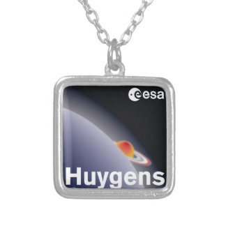 HUYGENS: Probe to Titan Silver Plated Necklace