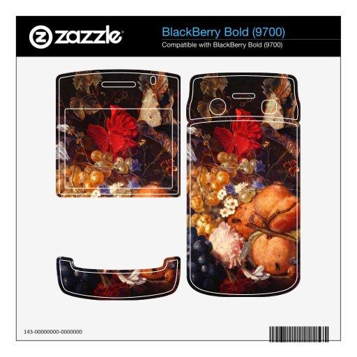 Huysum - Still life BlackBerry Decals