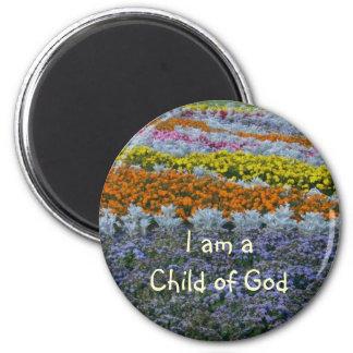 huzumigai, soy un niño de dios imán redondo 5 cm
