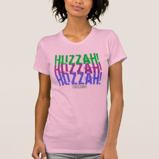 ¡Huzzah! Camisetas
