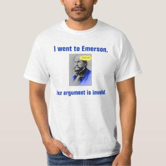 Huzzah, fui a Emerson., su discusión estoy en… Playeras