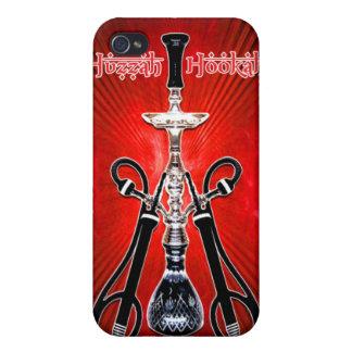Huzzah Hookah (Branded) v1 Case For iPhone 4