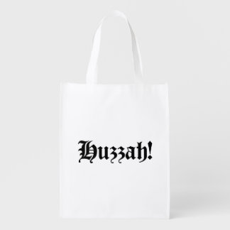 Huzzah! {Medieval Typography} Reusable Grocery Bag
