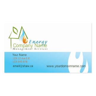 HVAC business card