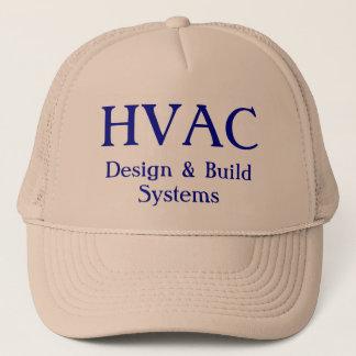 HVAC, Design & Build Systems Trucker Hat