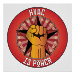 Hvac Is Power Poster