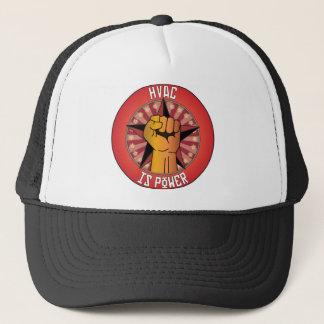 Hvac Is Power Trucker Hat