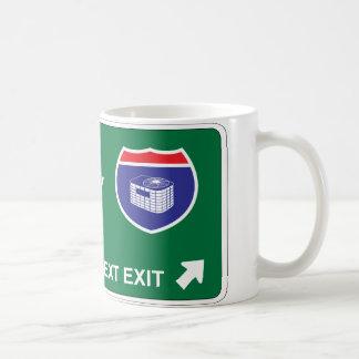 HVAC Next Exit Classic White Coffee Mug