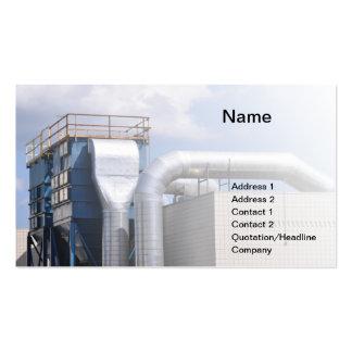 hvac or refrigeration equipment business card