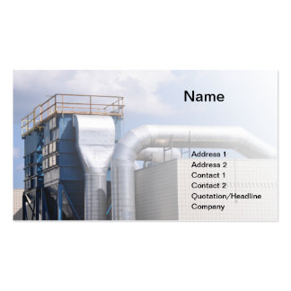 hvac or refrigeration equipment Double-Sided standard business cards (Pack of 100)