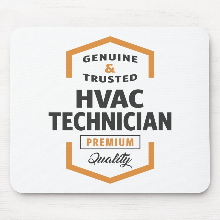 Hvac Technician Logo Gifts Mouse Pad Zazzle Com
