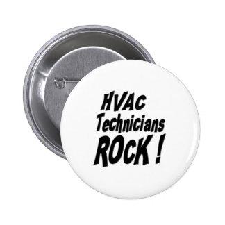 HVAC Technicians Rock! Button