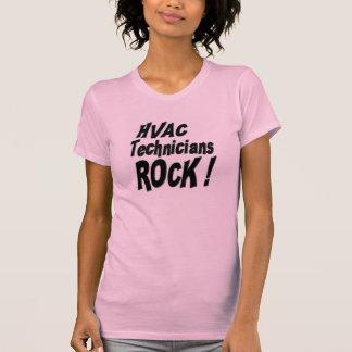 HVAC Technicians Rock! T-shirt