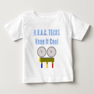 HVAC Techs Keep it Cool.png Baby T-Shirt