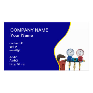 HVAC tools Double-Sided Standard Business Cards (Pack Of 100)