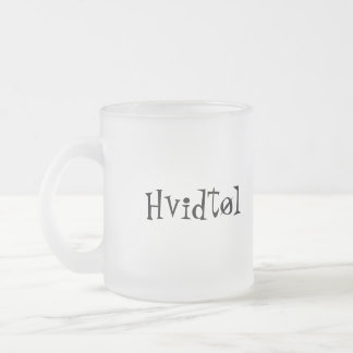 Hvidtøl Frosted Glass Coffee Mug