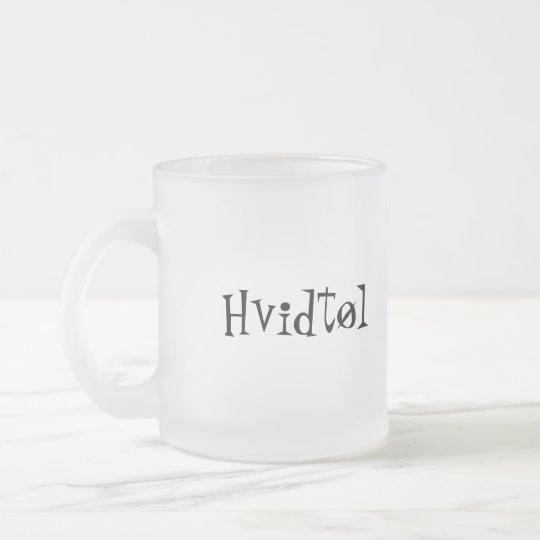 Hvidtøl Frosted Glass Coffee Mug