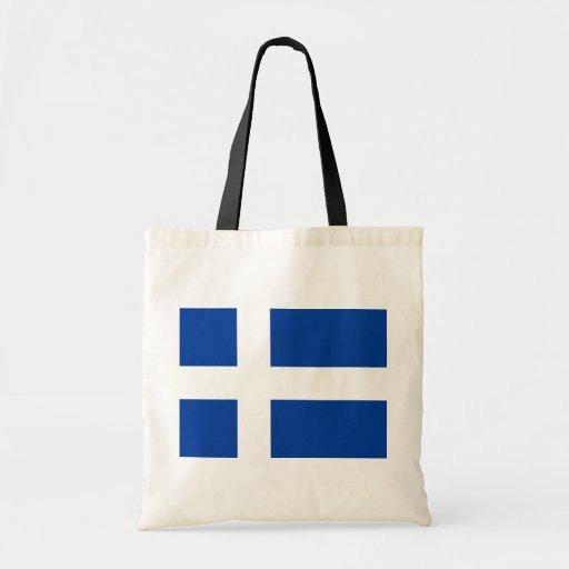 Hvitblainn, bandera de Islandia Bolsa De Mano