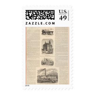 HW Collender B Kreischer and Son Stamp