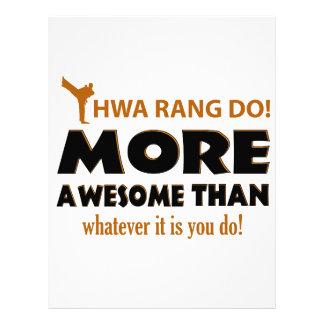 HWA RANG DO! DESIGN LETTERHEAD