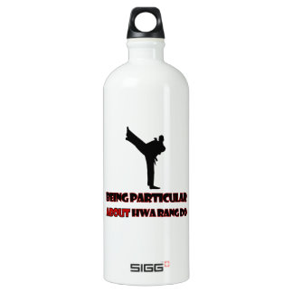 Hwa Rang Do   Designs Aluminum Water Bottle