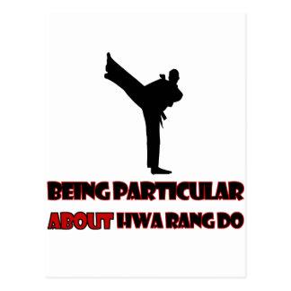 Hwa Rang Do   Designs Postcard