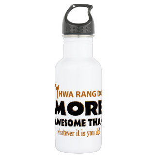 Hwa Rang Do Martial arts items Stainless Steel Water Bottle