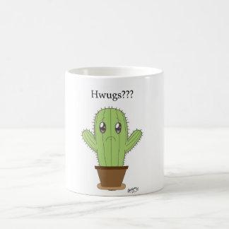 """Hwugs???"" Cactus Coffee Mug"