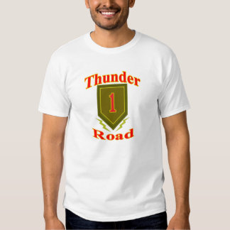 Hwy. #13, Better Known as Thunder Road. Tee Shirt