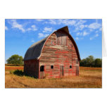 Hwy 15 Red Barn note card/greeting card Greeting Card