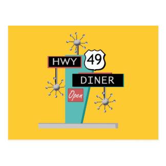 HWY 49 Diner Postcard