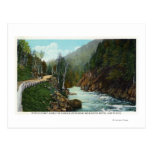 Hwy View of Ausable River near Wilmington Post Cards