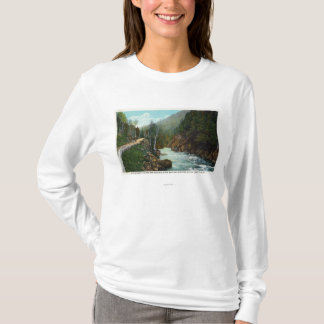 Hwy View of Ausable River near Wilmington T-Shirt