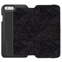 HXG1 BK-MRBL BK-WCLR iPhone 6/6S WALLET CASE