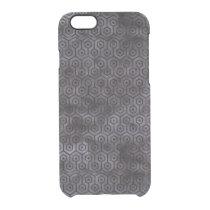 HXG1 BK-MRBL BK-WCLR (R) CLEAR iPhone 6/6S CASE