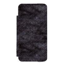 HXG1 BK-MRBL BK-WCLR (R) WALLET CASE FOR iPhone SE/5/5s