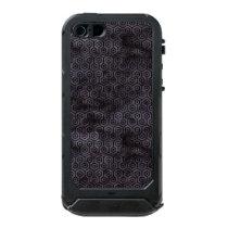 HXG1 BK-MRBL BK-WCLR (R) WATERPROOF iPhone SE/5/5s CASE