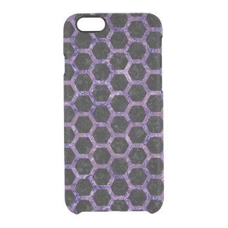 HXG2 BK-PR MARBLE CLEAR iPhone 6/6S CASE