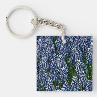 Hyacinth As Art Keychain