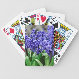 Hyacinth Bicycle Playing Cards