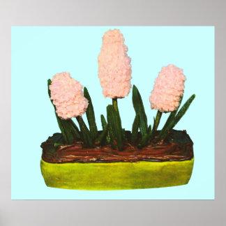 Hyacinth Cake Poster