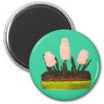 Hyacinth Cake Refrigerator Magnets