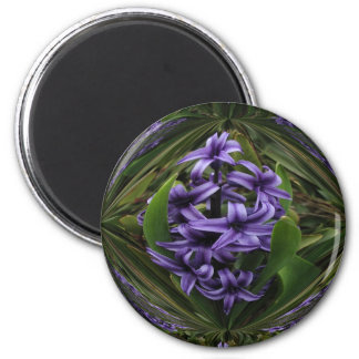 Hyacinth Candy Round Large 2 Inch Round Magnet