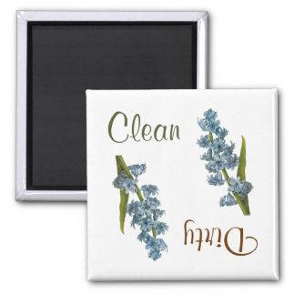 Hyacinth Flowers Dishwasher Magnet