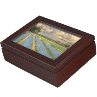 Hyacinth Flowers Fine Art Triptych image 3 of 3 Memory Boxes