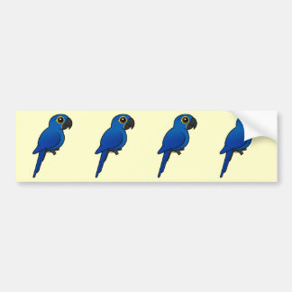 Hyacinth Macaw Bumper Sticker