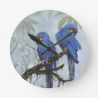 Hyacinth Macaw just for your special gifts Round Clock