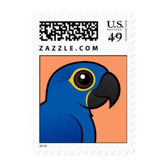 Hyacinth Macaw Postage Stamp