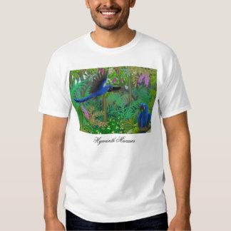 Hyacinth Macaws in Jungle T-Shirt